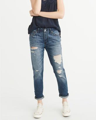 Low-Rise Slim Boyfriend Jeans $88 thestylecure.com