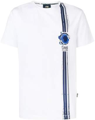 Class Roberto Cavalli logo print T-shirt