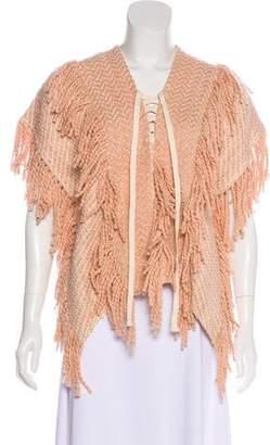 Ulla Johnson Knit Fringe-Trimmed Sweater