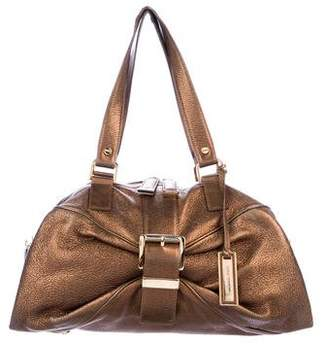 b6e6dc7f89 Pre-Owned at TheRealReal. Michael Kors Metallic Leather Shoulder Bag