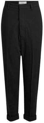 Ami Chinos in Wool and Cotton