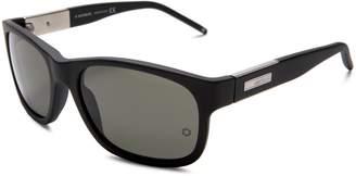 Montblanc Mont Blanc Men's MB278 Polarized Rectangular Sunglasses