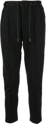 Loveless welt detail tapered trousers