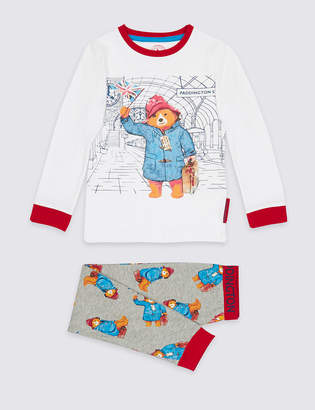 Marks and Spencer PaddingtonTM Cotton Rich Pyjamas (9 Months - 7 Years)