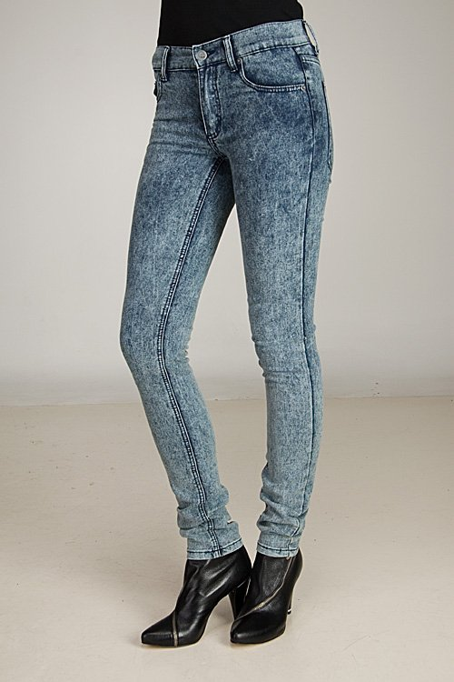 Cheap Monday Tight Ice Wash Jeans