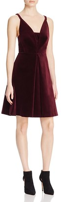 Whistles Love Velvet Dress - 100% Bloomingdale's Exclusive $520 thestylecure.com
