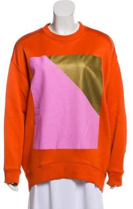 Acne Studios Printed Oversize Sweatshirt