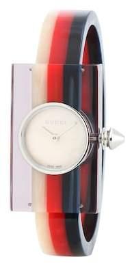 Gucci Embellished Plexiglas® watch
