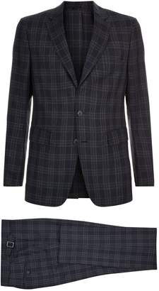 Burberry Check Two-Piece Suit