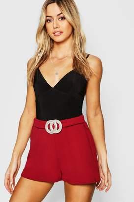 af2f282ddf0b boohoo Red Petite Shorts - ShopStyle Australia
