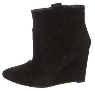 Rebecca Minkoff Suede Pointed-Toe Boots