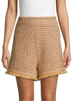 M Missoni Textured Tweed Shorts