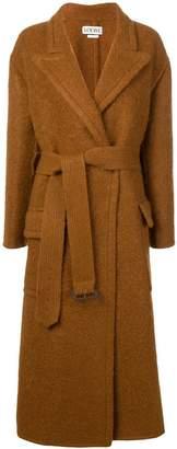 Loewe belted coat
