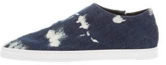 Stella McCartney Denim Slip-On Sneakers w/ Tags