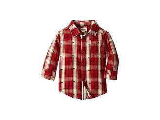Hatley Tiny Moose Button Down Shirt (Toddler/Little Kids/Big Kids)