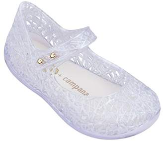 Mini Melissa Girls' Mini Campana Zig Zag VI Mary Jane Flat