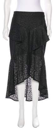 Rebecca Vallance Guipure Midi Skirt w/ Tags