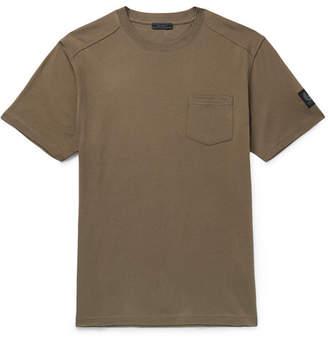 Belstaff Thom Cotton-Jersey T-Shirt - Men - Green
