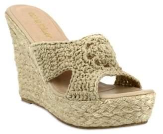 OLIVIA MILLER Geneva Wedge Sandal