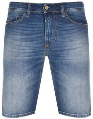 Diesel Thoshort Denim Shorts Blue