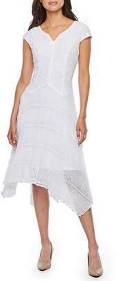 Rabbit Rabbit Rabbit DESIGN Design Cap Sleeve Lace Fit & Flare Dress