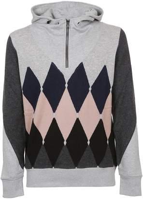 Ballantyne Diamond Pattern Hoodie
