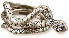 Worn Gold Snake Ring