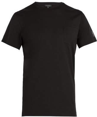 Belstaff New Thom Pocket Crew Neck Cotton T Shirt - Mens - Black
