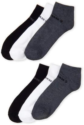 Converse 6-Pack Half Cushion Low Cut Socks