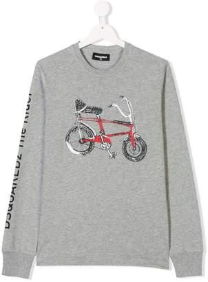 DSQUARED2 bicycle sweatshirt