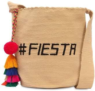 Fiesta Mochila Woven Bucket Bag