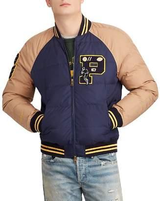 Polo Ralph Lauren Down Letterman Jacket