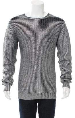 Soulland Foil Print Wool-Blend Sweater w/ Tags