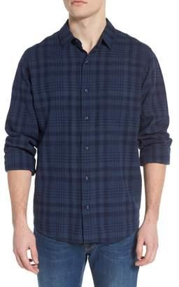 Rails Connor Plaid Linen Blend Sport Shirt