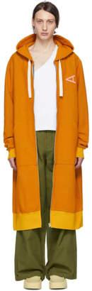 Acne Studios Yellow Farley Long Hoodie