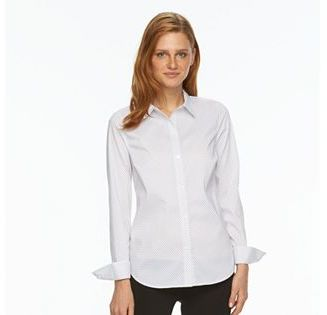 Women's Apt. 9® Essential Wrinkle-Resistant Shirt $36 thestylecure.com