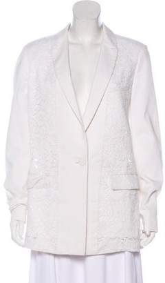 Givenchy Structured Lace Blazer