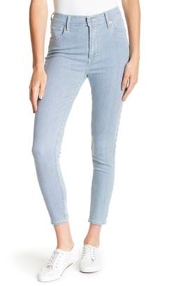 Levi's Mile High Pinstripe Skinny Ankle Jeans