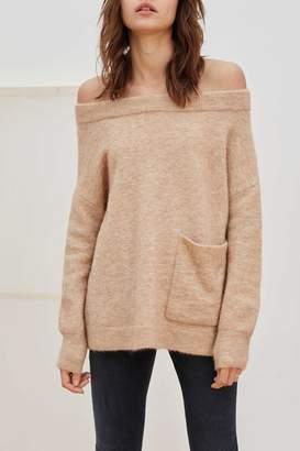 Charli Bela Camel Sweater