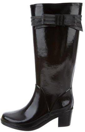 Kate Spade New York Rubber Knee-High Rain Boots