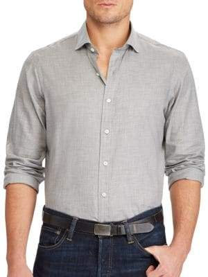 Ralph Lauren Standard-Fit Cotton Button-Down Shirt
