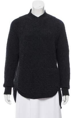 Theyskens' Theory Wool High-Low Sweater