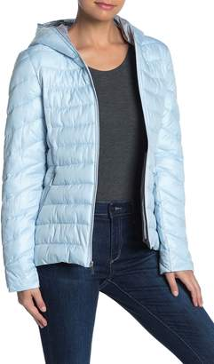 French Connection Packable Quilted Puffer Jacket