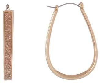 Melrose and Market 45mm Glitter Hoop Earrings