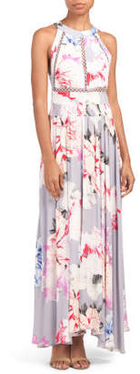 Juniors Le Fleur Endless Summer Maxi Dress