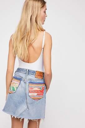 Tricia Fix Denim Pocket Skirt
