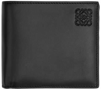 Loewe Black and Green Bifold Wallet