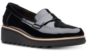 a5a5ea1668f Clarks Collection Women s Sharon Gracie Platform Loafers