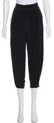 Maiyet Silk Straight-Leg Pants