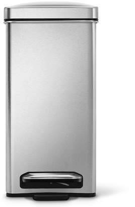 Simplehuman 10L Profile Step Trash Can Stainless Steel